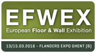 EFWEX • 13 - 15 Marzo 2016 • Ghent
