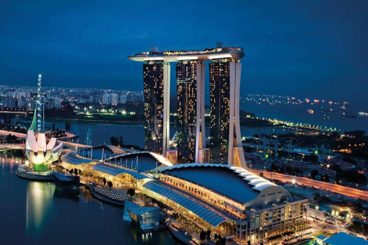 Marina Bay Sands: over 40.000 Italian supports in Singapore
